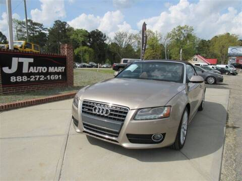 2010 Audi A5 for sale at J T Auto Group in Sanford NC