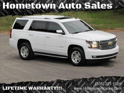 2015 Chevrolet Tahoe for sale at Hometown Auto Sales - SUVS in Jasper AL