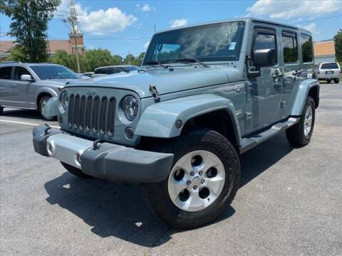 2015 Jeep Wrangler Unlimited for sale at iDeal Auto in Raleigh NC