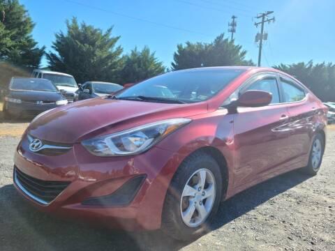 2015 Hyundai Elantra for sale at PERUVIAN MOTORS SALES in Warrenton VA