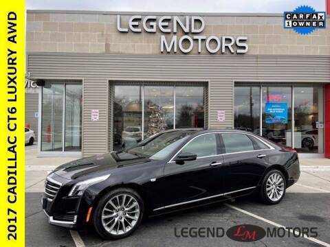 2017 Cadillac CT6 for sale at Legend Motors of Waterford in Waterford MI