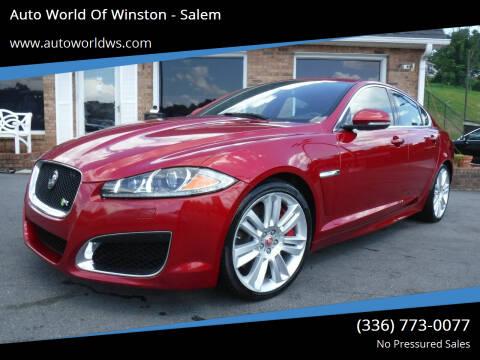 2014 Jaguar XF for sale at Auto World Of Winston - Salem in Winston Salem NC