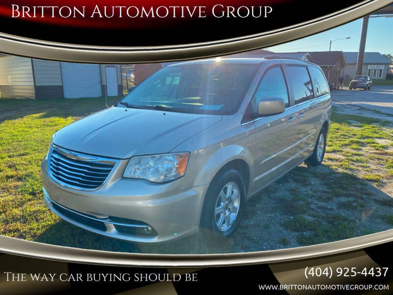 2013 Chrysler Town and Country for sale at Britton Automotive Group in Loganville GA