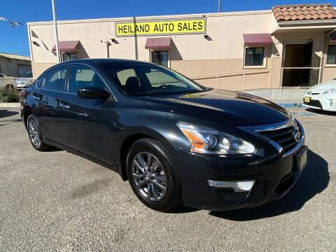 2015 Nissan Altima for sale at HEILAND AUTO SALES in Oceano CA