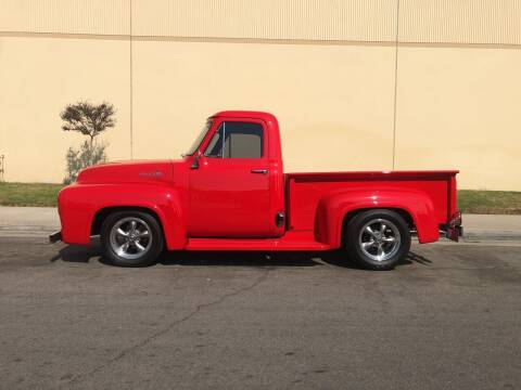 1955 Ford F100 Pick Up for sale at HIGH-LINE MOTOR SPORTS in Brea CA