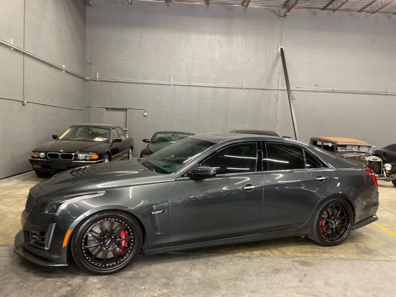 2016 Cadillac CTS-V for sale at EA Motorgroup in Austin TX