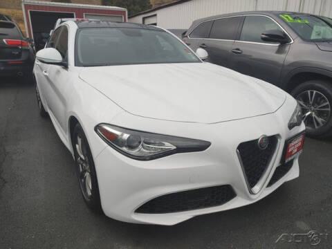 2018 Alfa Romeo Giulia for sale at Guy Strohmeiers Auto Center in Lakeport CA