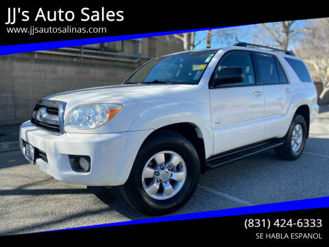2007 Toyota 4Runner for sale at JJ's Auto Sales in Salinas CA