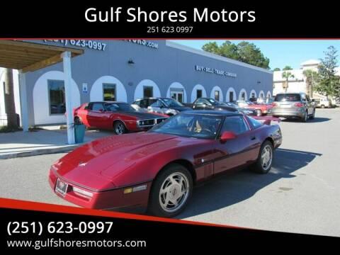 1989 Chevrolet Corvette for sale at Gulf Shores Motors in Gulf Shores AL