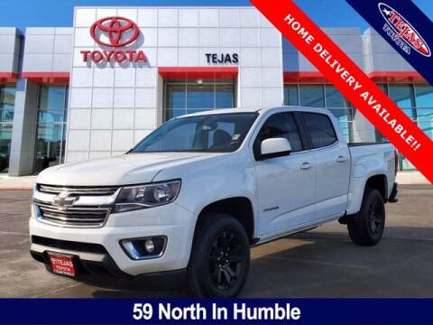 2018 Chevrolet Colorado for sale at TEJAS TOYOTA in Humble TX