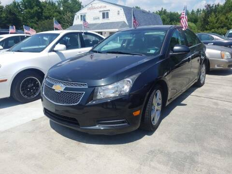 2014 Chevrolet Cruze for sale at Complete Auto Credit in Moyock NC