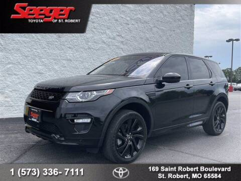 2017 Land Rover Discovery Sport for sale at SEEGER TOYOTA OF ST ROBERT in Saint Robert MO