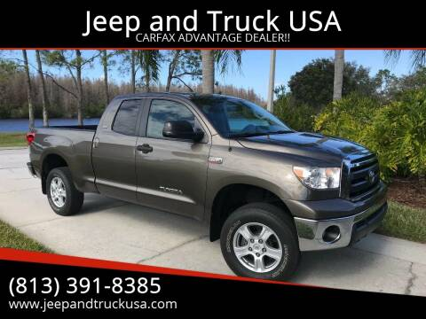 2011 Toyota Tundra for sale at Jeep and Truck USA in Tampa FL