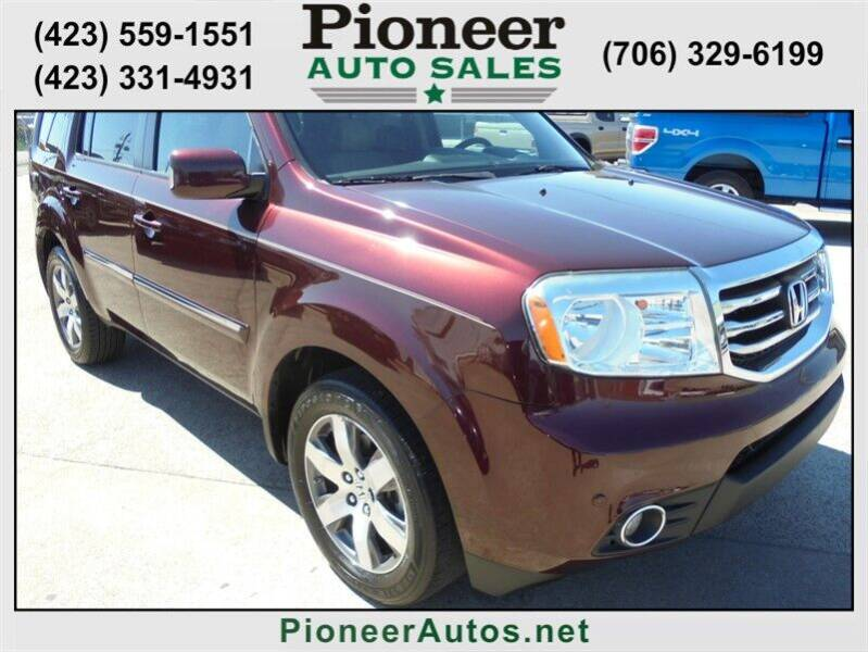 2013 Honda Pilot for sale at PIONEER AUTO SALES LLC in Cleveland TN
