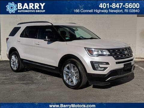 2017 Ford Explorer for sale at BARRYS Auto Group Inc in Newport RI