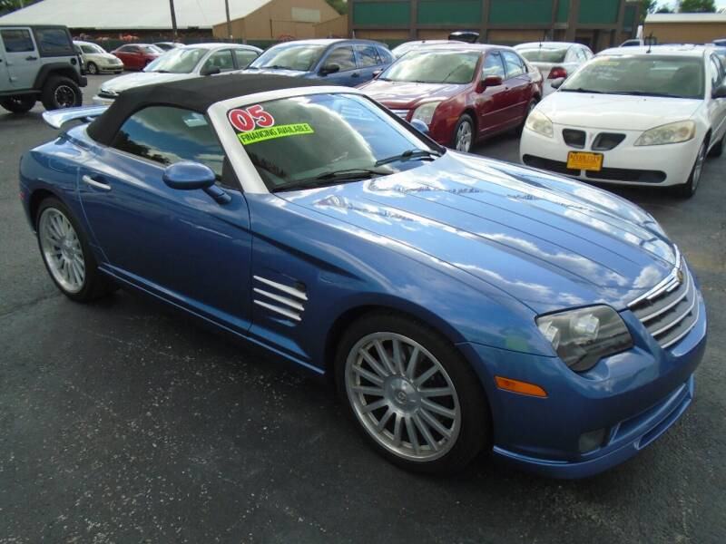 2005 Chrysler Crossfire SRT-6 for sale at River City Auto Sales in Cottage Hills IL