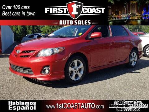 2013 Toyota Corolla for sale at 1st Coast Auto -Cassat Avenue in Jacksonville FL