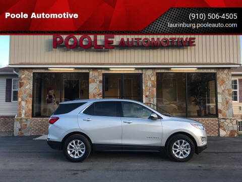 2020 Chevrolet Equinox for sale at Poole Automotive in Laurinburg NC