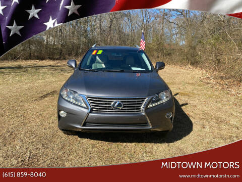 2013 Lexus RX 350 for sale at Midtown Motors in Greenbrier TN