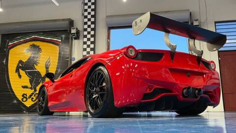 2014 Ferrari 458 Challenge for sale at Pro Auto Showroom in Milpitas CA