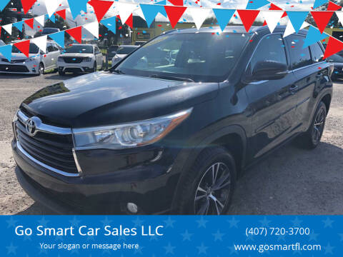 2016 Toyota Highlander for sale at Go Smart Car Sales LLC in Winter Garden FL
