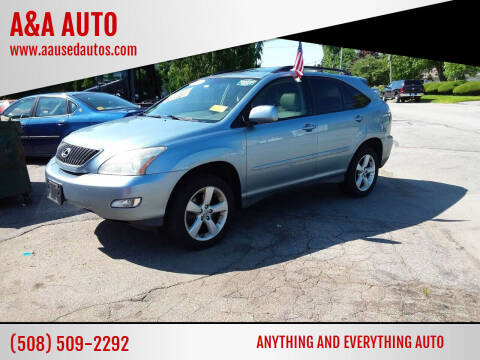 2005 Lexus RX 330 for sale at A&A AUTO in Fairhaven MA