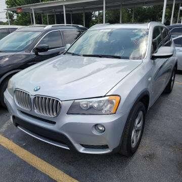 2011 BMW X3 for sale at America Auto Wholesale Inc in Miami FL