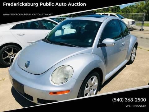 2007 Volkswagen New Beetle for sale at FPAA in Fredericksburg VA
