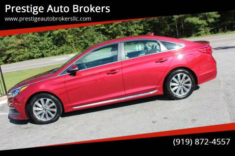 2015 Hyundai Sonata for sale at Prestige Auto Brokers in Raleigh NC