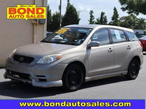 2003 Toyota Matrix for sale at Bond Auto Sales in Saint Petersburg FL