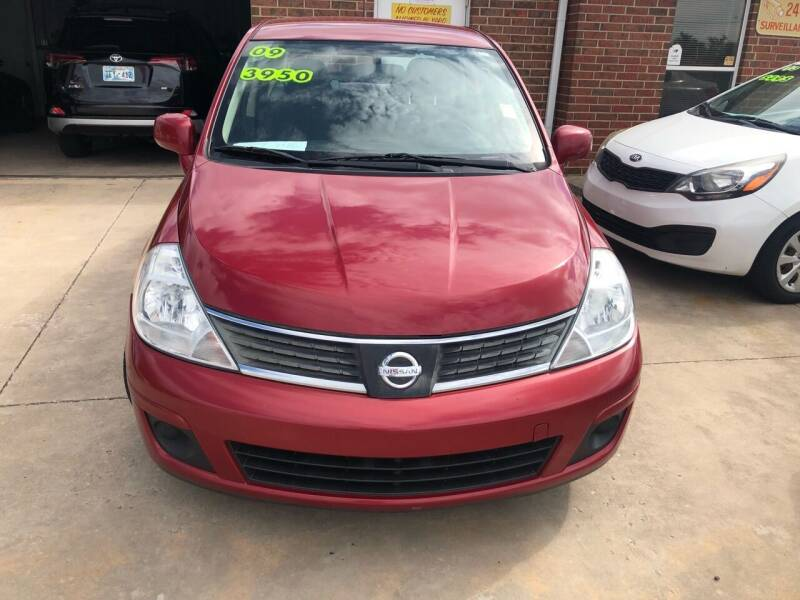 2009 Nissan Versa for sale at Moore Imports Auto in Moore OK