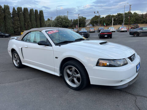 2001 Ford Mustang for sale at Blue Diamond Auto Sales in Ceres CA