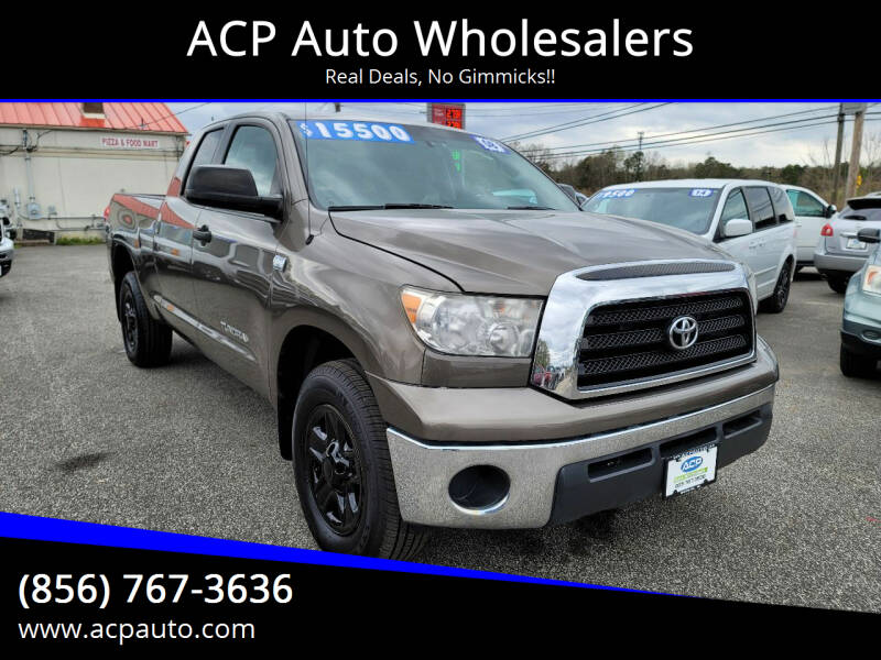 2008 Toyota Tundra for sale at ACP Auto Wholesalers in Berlin NJ