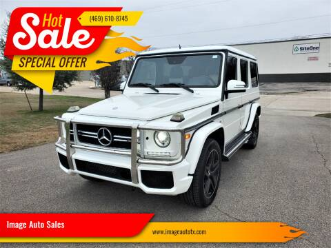 2015 Mercedes-Benz G-Class for sale at Image Auto Sales in Dallas TX