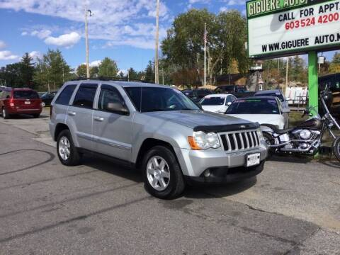 2010 Jeep Grand Cherokee for sale at Giguere Auto Wholesalers in Tilton NH