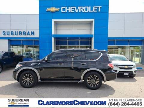 2017 Nissan Armada for sale at Suburban Chevrolet in Claremore OK