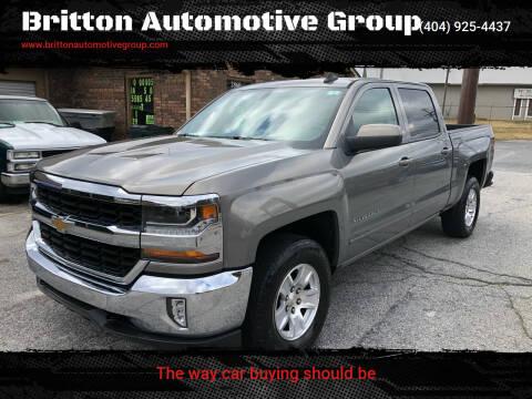2017 Chevrolet Silverado 1500 for sale at Britton Automotive Group in Loganville GA
