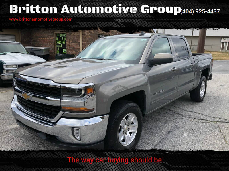 2017 Chevrolet Silverado 1500 for sale at Britton Automotive Group in Loganville GA