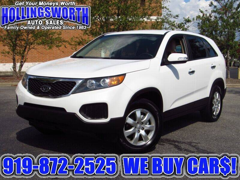 2013 Kia Sorento for sale at Hollingsworth Auto Sales in Raleigh NC