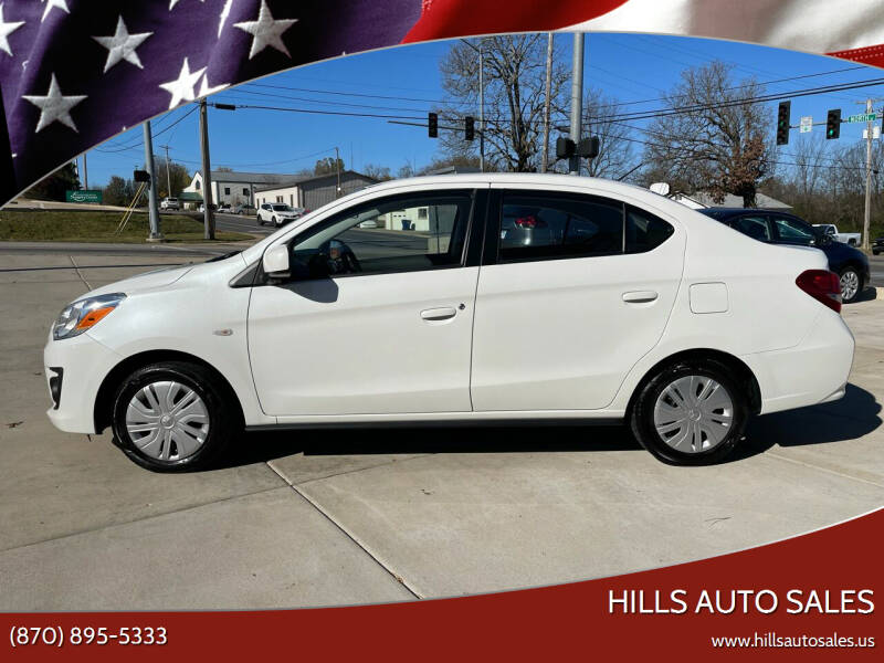 2019 Mitsubishi Mirage G4 for sale at Hills Auto Sales in Salem AR