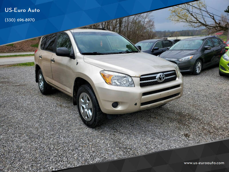 2008 Toyota RAV4 for sale at US-Euro Auto in Burton OH