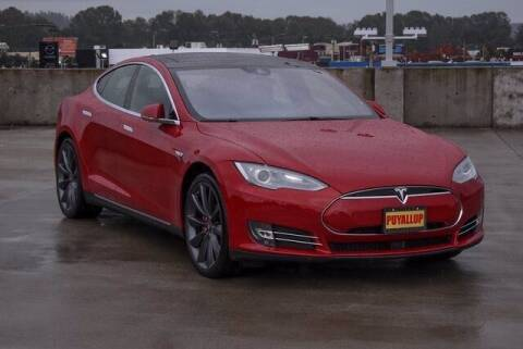 2016 Tesla Model S for sale at Chevrolet Buick GMC of Puyallup in Puyallup WA