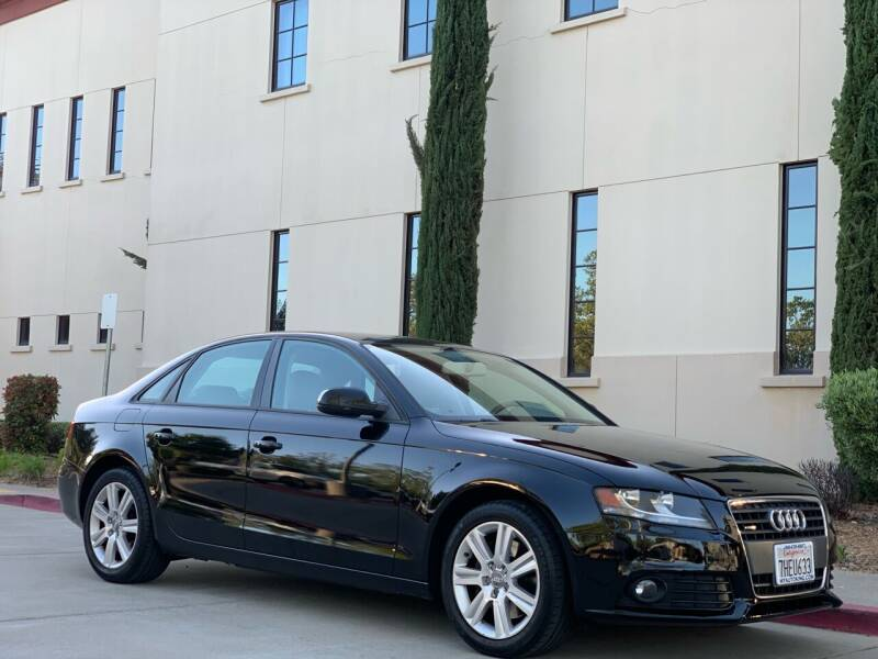 2010 Audi A4 for sale at Auto King in Roseville CA