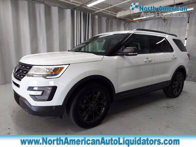 2017 Ford Explorer for sale at North American Auto Liquidators in Essington PA