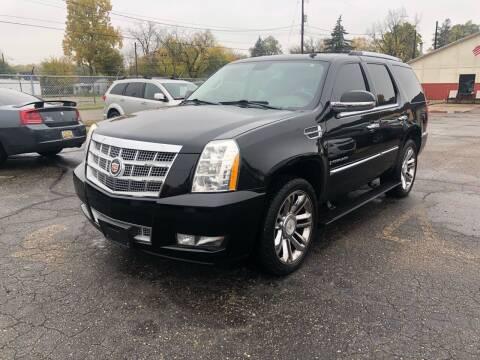 2008 Cadillac Escalade for sale at Dean's Auto Sales in Flint MI