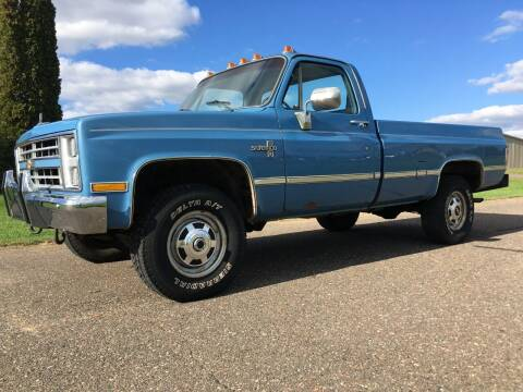 1986 Chevrolet C/K 20 Series for sale at WHEELS & DEALS in Clayton WI