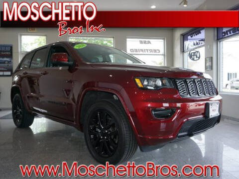 2020 Jeep Grand Cherokee for sale at Moschetto Bros. Inc in Methuen MA