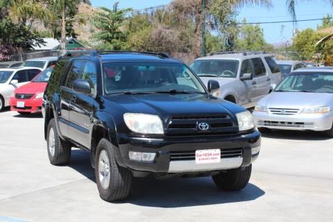 2003 Toyota 4Runner for sale at Car 1234 inc in El Cajon CA