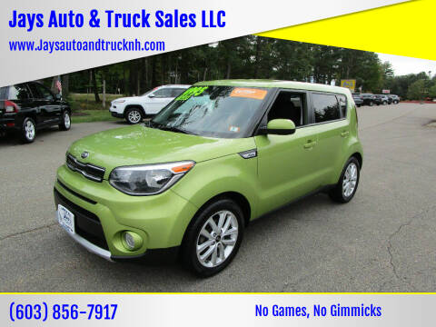 2017 Kia Soul for sale at Jays Auto & Truck Sales LLC in Loudon NH