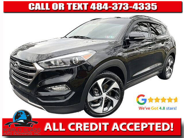 2016 Hyundai Tucson for sale at World Class Auto Exchange in Lansdowne PA